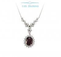 Lois Diamond Pırlanta Yakut Kolye KY2042